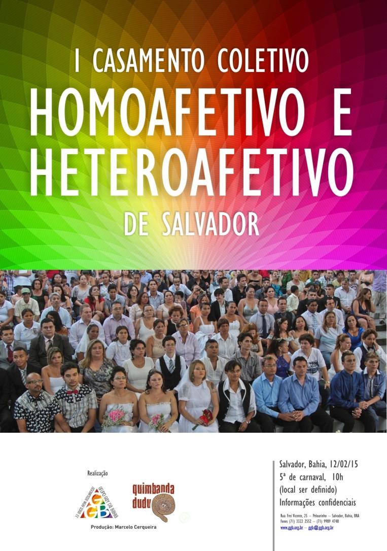 Cartaz casamento gay coletivo 3