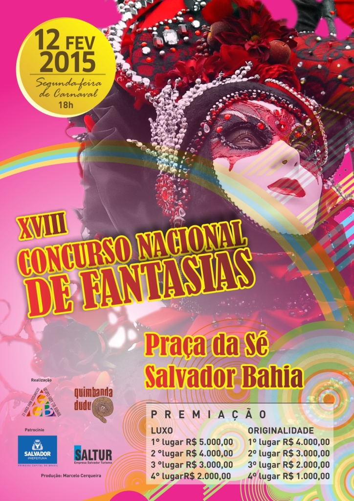 cartaz concurso fantasias 2015