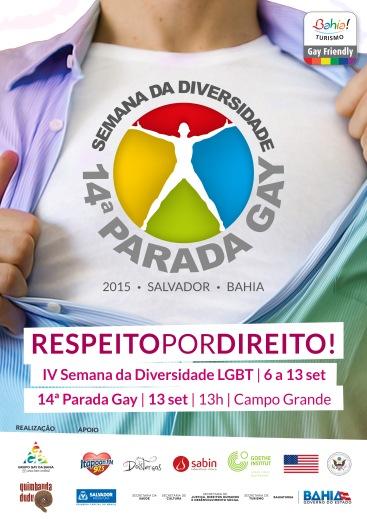 CARTAZ PROMOCIONAL DA IV SEMANA DIVERSIDADE 2015