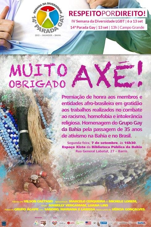 OBRIGADO AXE FOLDER