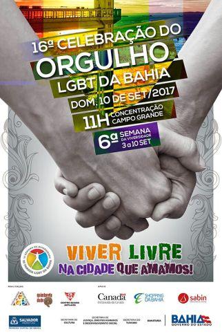 Cartaz 16 celebração do orgulho